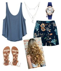 """""""That hair though """" by sweet-brownsuga ❤ liked on Polyvore featuring Billabong, Charlotte Russe, River Island, RVCA and Vivienne Westwood"""