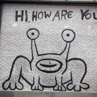 Hi How Are You? Mural. Austin, TX    Photo by Chase M.