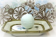 Green Tea Bath Bomb Bath Fizzy - Shower Steamer  Used for centuries in the traditional ritual of the Japanese Tea Ceremony, green tea is also known