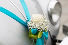 Our beetle with flower decoration