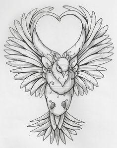 Tatouage colombe