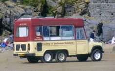 Whitby Morrison 6 Wheeled Land Rover Ice Cream Van