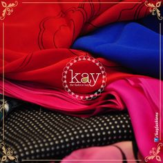 Colours light up our life. As women we love colours that light our smile. Gorgeous electric blue, dashing red and sweet pink sure makes for an elegant look, doesn't it? Do you love these colours?  http://www.kayfashions.in/#!/ #fashion #indian #weddings #bridal #lehenga #ghagra #anarkali #salwar #designer #ethnic #boutique #chennai #shopping #triplicane #dress #clothes #traditional #saree #sari #silksaree