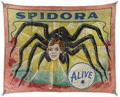 Images For > Vintage Circus Sideshow Banners