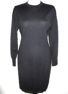 * * * comma, Merinowoll-Kleid schwarz, Gr.M * * * | eBay High Neck Dress, Turtle Neck, Sweaters, Ebay, Dresses, Fashion, Clothing Accessories, Fashion Women, Curve Dresses