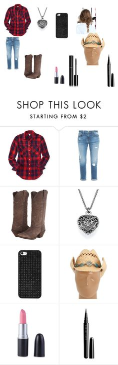 """Barn girl!"" by fashion-diva-844 on Polyvore featuring Aéropostale, Frame Denim, Durango, BaubleBar, Nocona, Marc Jacobs and Chanel"