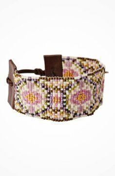 Chan Luu 6' Pink Mix/Brown Seed Bead Cuff Bracelet #accessories  #jewelry  #bracelets  https://www.heeyy.com/chan-luu-6-pink-mixbrown-seed-bead-cuff-bracelet-pink-mix-brown/