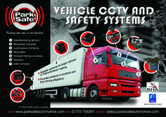 Vehcile CCTV and safety cameras for any given situation
