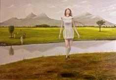 Shore Oil on canvas 120 times 170 cm