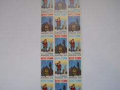 Father Flanagan's Boys Home. Boys Town, Nebraska  1974 Annual Seal Stamps