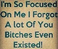 I'm so focused on me quotes&pics