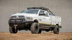 2010 - Up Dodge Ram 2500/3500 HoneyBadger Front bumper