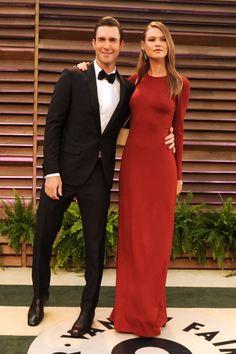 The 15 BEST celebrity weddings of 2014: Adam Levine and Behati Prinsloo