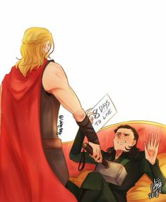 Countdown to Infinity War 8D || Thor & Loki || Cr: ℒɐızʎ ArTz!
