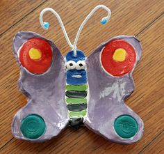 from that artist woman blog: Clay Butterflies. Great step by step photos!