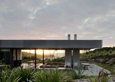 Island Retreat above Matiatia Bay by Fearon Hay Architects | Auckland, NZ