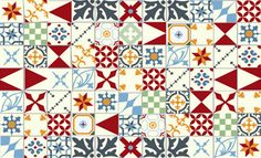 Tiling with a Twist - top designer tips: Alhambra Home & Garden