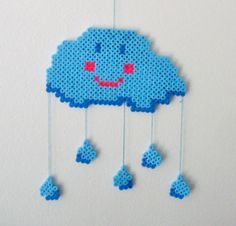 Mobile made of Hama beads by Superskurk $ 21.4