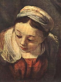 The Holy Family(fragment) - Rembrandt