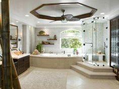 #baño #regadera #jacuzzi #lavamanos #repisas