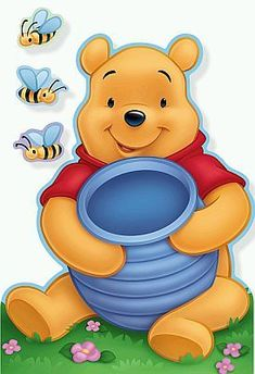 Pooh,mel e abelhas