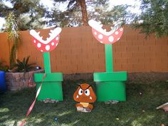 decorations for super mario party