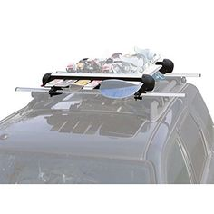Apex Roof Ski Rack for 6 Pair Skis or 4 Snowboards