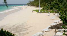The gorgeous maxwell beach at Bougainvillea Beach Resort, Barbados