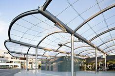 Bus station, Hamburg-Poppenbüttel – ETFE membrane roof