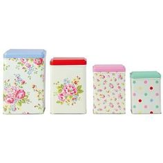 Vintage Inspired Canisters « The Homestead