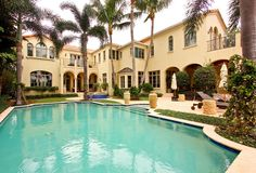 209 Palm Trail, Delray Beach: This Mediterranean estate is situated on an oversized lot with expansive Intracoastal views. The gracious foyer, formal living room with fireplace and detailed ceiling, bar and club room, chef's kitchen with top-of-the-line cabinetry and appliances and casual living room all open invitingly through French doors leading onto the outdoor entertainment area. See the listing: http://www.corcoran.com/florida/listings/display/2972975