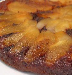 Recette de Gâteau renversé poires-chocolat : la recette facile by loretta