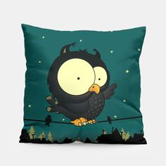 Little Owl Pillow, Live Heroes Owl Pillow, Pillow Sale, Crazy Home, Little Owl, Unique Image, Pillow Design, Home Buying, Teddy Bear, Make It Yourself