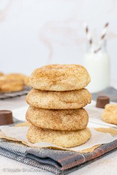 These Cinnamon Rolo Cookies have a hidden candy surprise in the center of each one. All you need is a cake mix and a few extra ingredients to make these soft and gooey cookies.