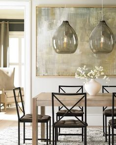 50 Beautiful Globe Pendant Lights: From Metal To Glass To Paper Dinning Room  Light Fixture