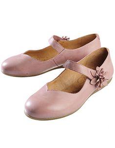 Deerberg Tamika, antique pink - Strap Shoes - Deerberg