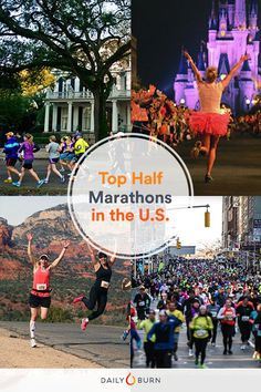 Check out this list of the 50 Best Half-Marathons in the U.S.! I would love running all of these.