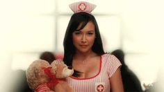 "Naya ""Santana"" Rivera and Glee Nursing Assistant, Nursing Jobs, Nursing School Humor, Ob Nursing, Funny Nursing, Naya Rivera Hot, Mean Girls, Hot Girls, Beautiful Nurse"