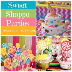 Kids in a Candy Store: How to Throw a Sweet Shoppe-themed Party
