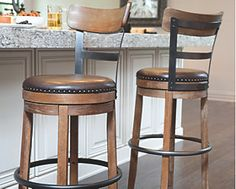Find stylish and affordable Bar Stools at Ashley Furniture HomeStore. Styles range from Modern to Traditional to meet any home design. Counter Height Bar Stools, Swivel Bar Stools, Bar Chairs, Eames Chairs, Backless Counter Stools, Office Chairs, Swivel Chair, Dining Chairs, Rustic Bar Stools