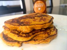 3-Ingredient Sweet Potato Pancakes