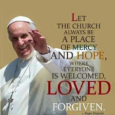 """""""Do not let yourselves be robbed of hope! And not only that, but I say to us all: let us not rob others of hope, let us become bearers of hope!"""" ~ Pope Francis"""