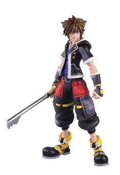 Figura Sora Second Form Version 16 cm. Kingdom Hearts Figures, Sora Kingdom Hearts, Disney Time, Disney Fun, Monster High Boys, Action Figure One Piece, Kindom Hearts, Fun Fair, Mode Shop