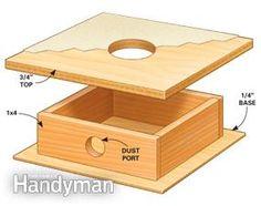 Drum sander table 2