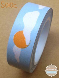 Washi Tape sol y nubes