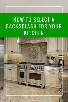 A kitchen's backsplash is like its jewelry, adding a touch of sparkle and flair. It can also help bring your kitchen décor together while making the room easier to clean. Learn how to select a backsplash for your kitchen on our blog - http://bhgrelife.com/how-to-select-a-backsplash-for-your-kitchen/