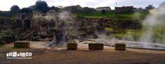 Fordongianus è situato sulla sponda sinistra della valle del Tirso e sorge sui resti dell'antica sede fortificata di Forum Traiani. Il paese è noto per la presenza di un complesso termale di età romana risalente al I secolo d.C. Fin dalla sua fondazione fu un centro rinomato per le sue terme che sfruttano una fonte naturale di acqua calda e curativa. Le acque infatti sgorgano da sorgenti naturali ad una temperatura di 56 °C per tutto l'anno.