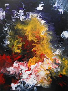 Abstract painting by TableauxAxelleBosler on Etsy
