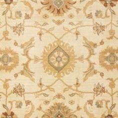 Safavieh Oushak Cream/ Gold Powerloomed Rug (9'6 x 13'). Overstock.com