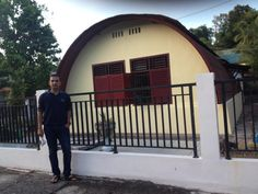 Oval House,Tarakan - North Borneo